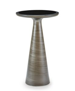 Mitchell Gold + Bob Williams Addie side table pewter