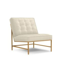 Mitchell Gold + Bob Williams Major chair warm brass