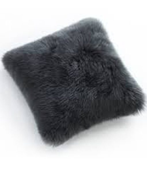 Auskin Sheepskin dark pillow