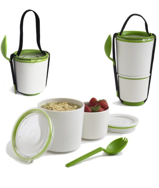 Black and Blum lunch pots