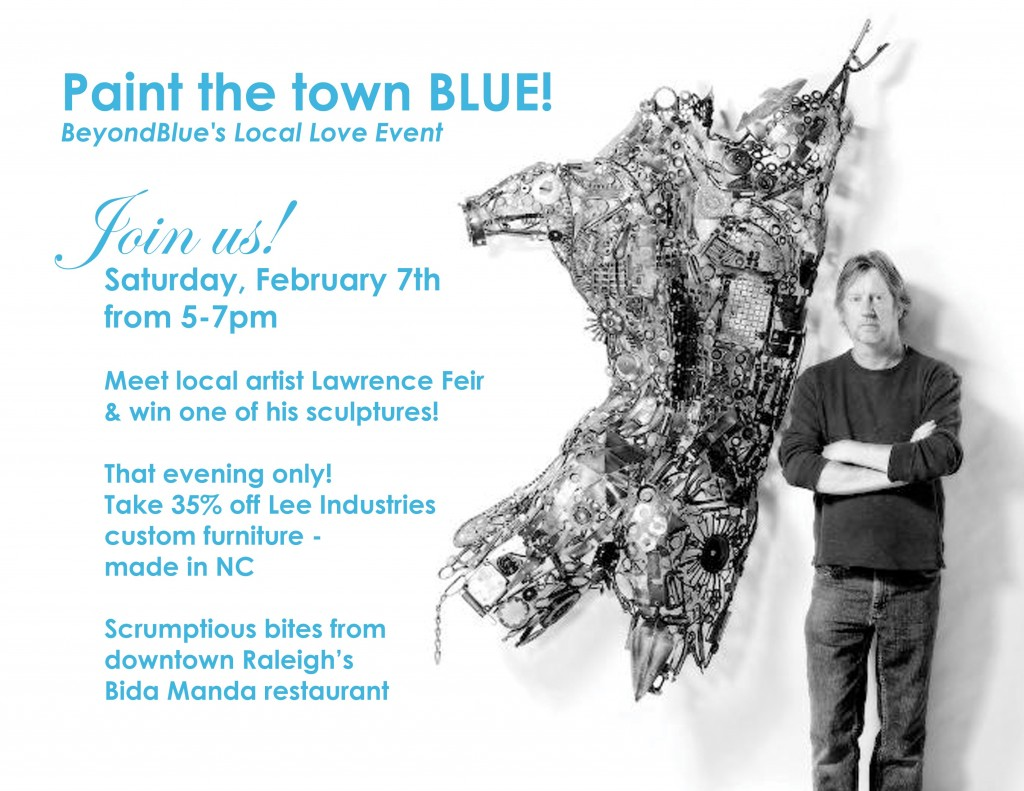paint the town blue - feb 7