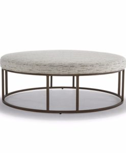 Mitchell Gold + Bob Williams Carmen round ottoman