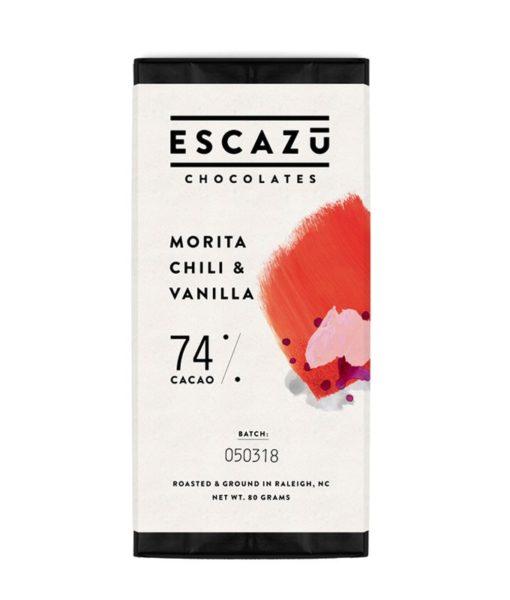 Escazu chocolate morita chili + vanilla