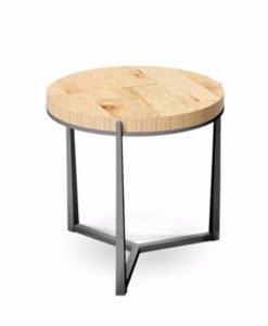 Charleston Forge Cooper round side table