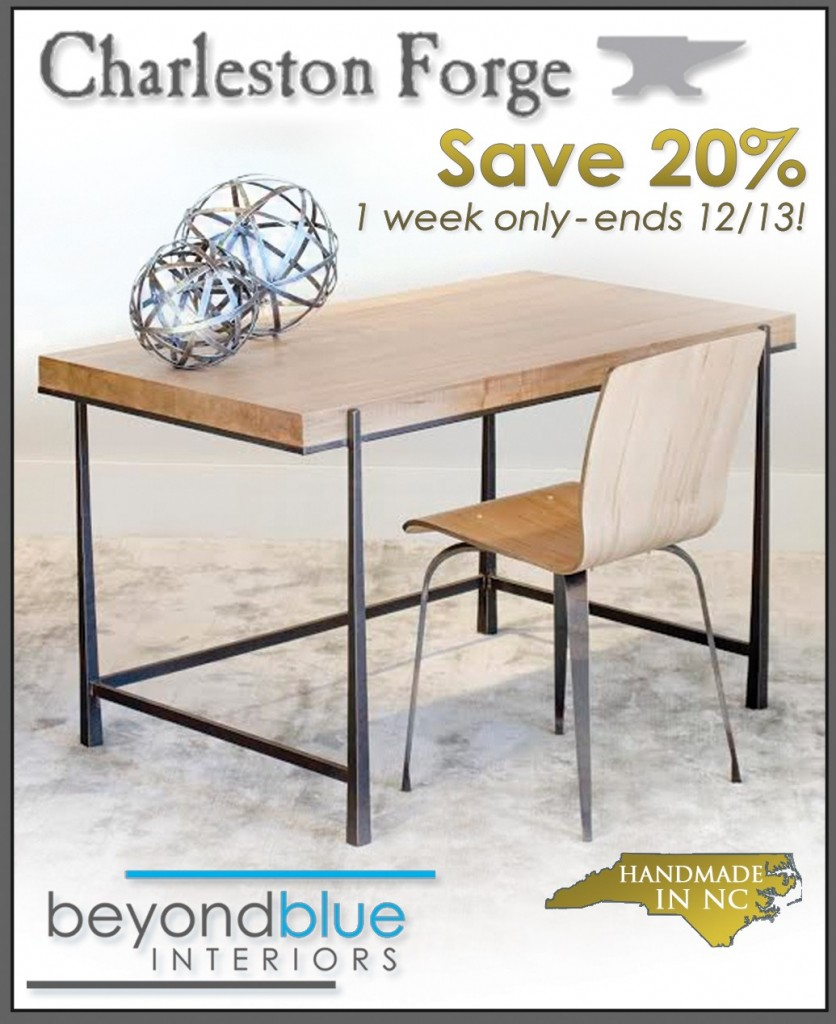 BeyondBlue Interiors Charleston Forge Sale Cooper Desk