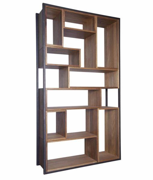 Noir QS Bauhaus bookcase