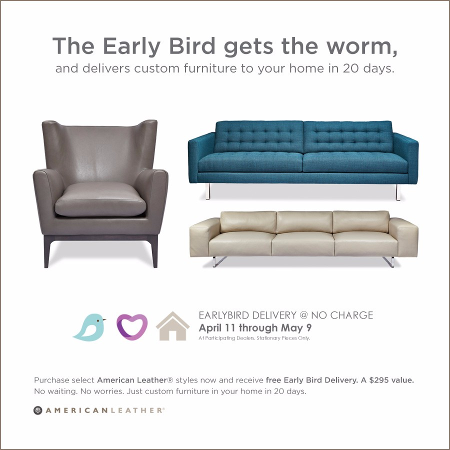 American Leather Early Bird Sale Spring 2016 Large Image