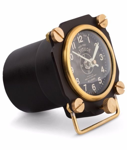 Pendulux-Altimeter-Black-Side-Angle-Clock