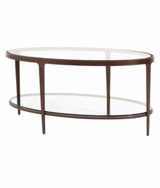 Charleston Forge Ellipse cocktail table