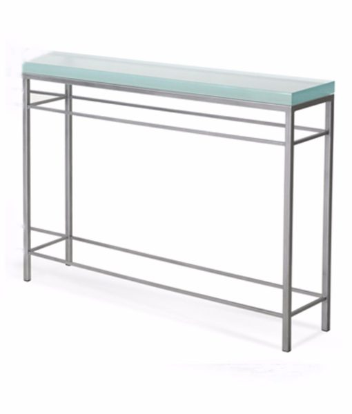 Charleston Forge Newhart console with fusion glass top