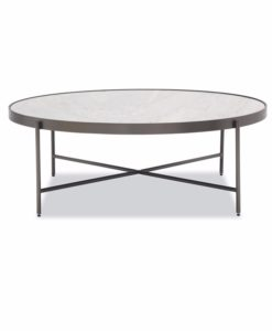 Mitchell Gold + Bob Williams Turino marble cocktail table