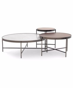 Mitchell Gold + Bob Williams Turino nesting cocktail tables