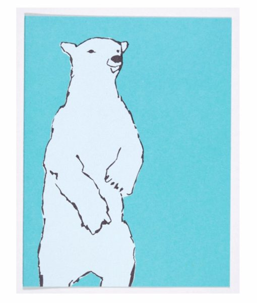 kinaloon-polar-bear-card