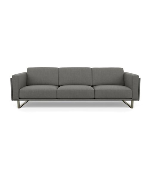American Leather Berkeley sofa in grey