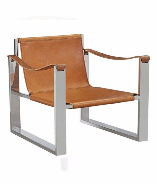 Lee Industries L1899-01 safari chair angled view