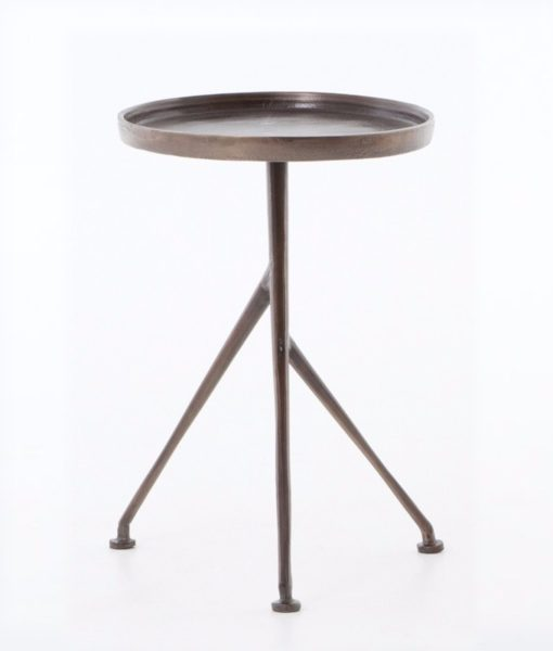Four Hands Schmidt side table front view
