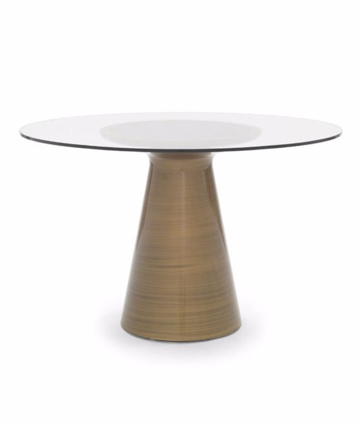 Mitchell Gold + Bob Williams Addie dining table bronze