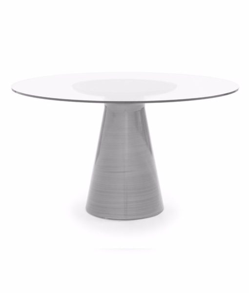 Mitchell Gold + Bob Williams Addie dining table pewter
