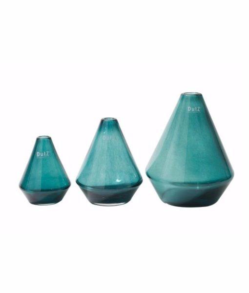 EurDecor Milan pine green vases