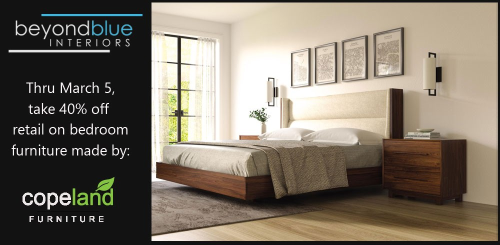 Copeland Bedroom Furniture Sale - 40% off retail at ...