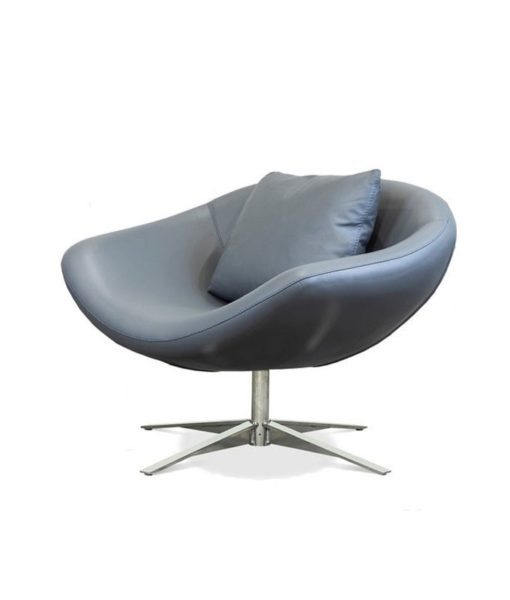 American Leather Parma swivel chair