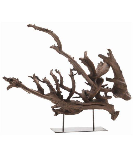 Arteriors Kazu wood sculpture