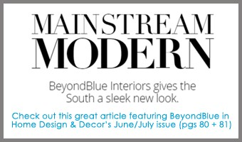 BeyondBlue featured in Home Design & Decor Mag