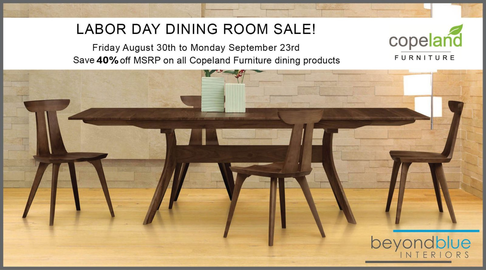 Copeland Dining Sale Fall 2019