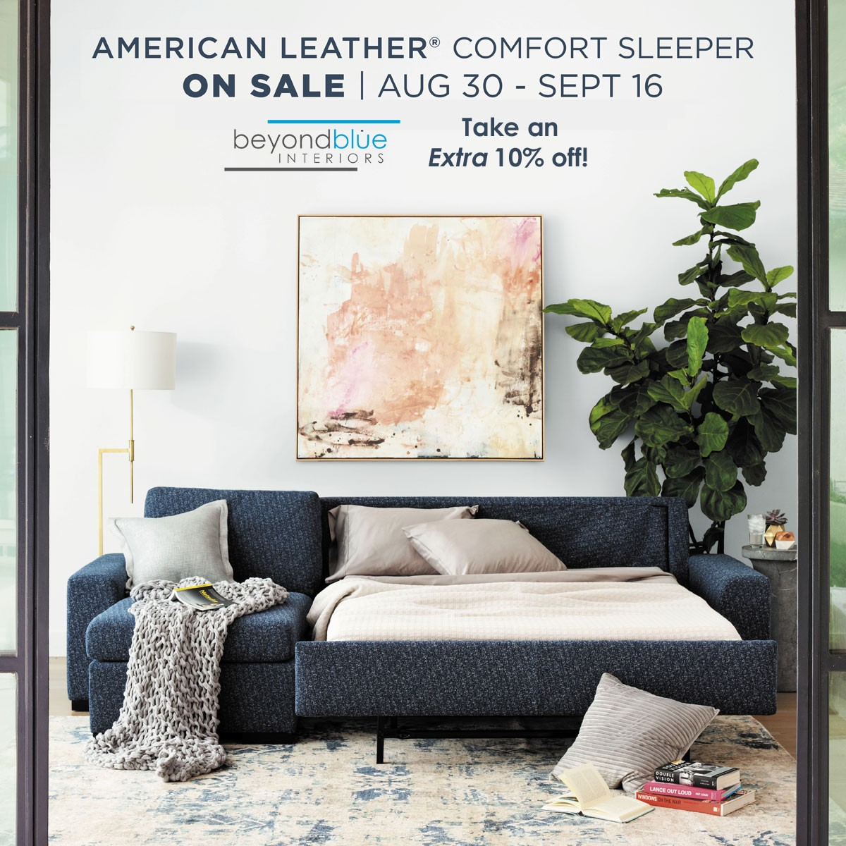 American Leather Sleeper Sale Fall 2019