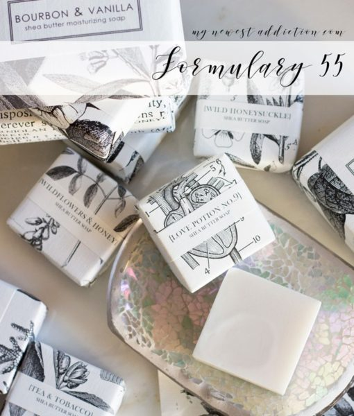 Formulary 55 soaps + candles