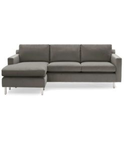 Mitchell Gold + Bob Williams Hunter Studio reversible sectional