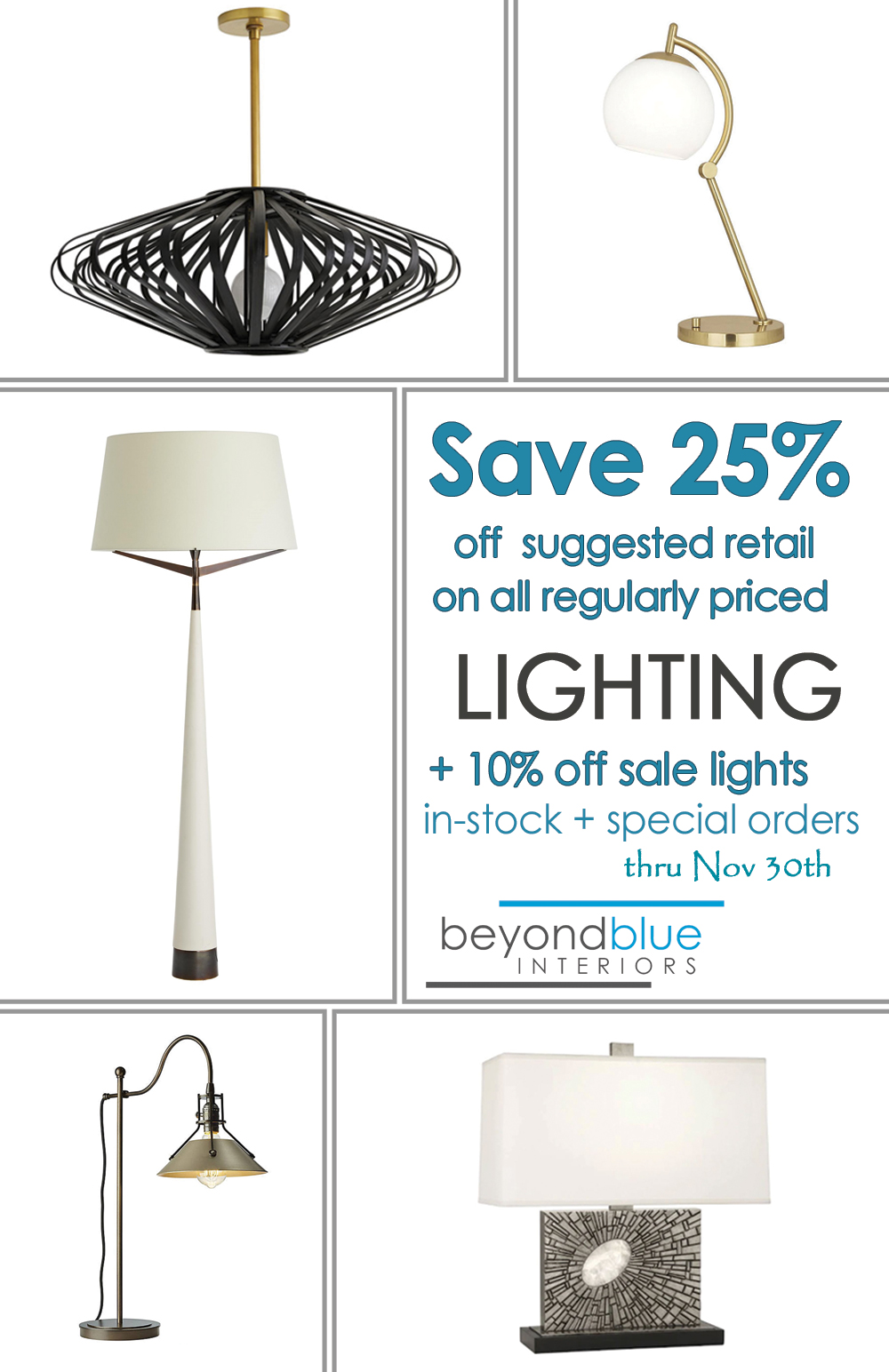 Fall Lighting Sale 2019