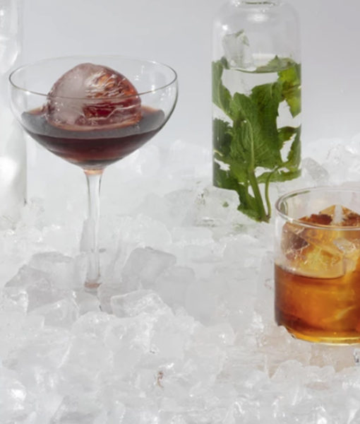 W&P Design Peak ice cubes
