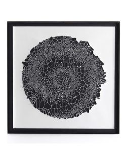 Four Hands Organic Spiral Cut wall art
