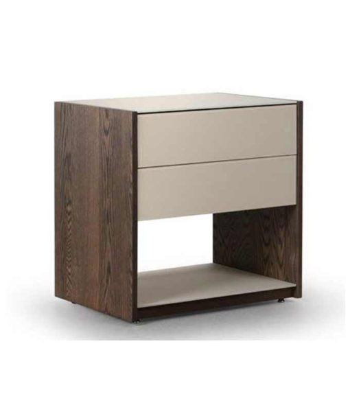 Trica vision 2-drawer nightstand