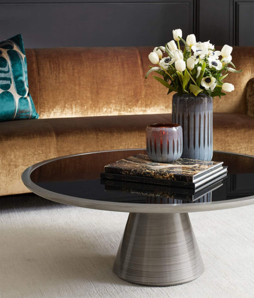 Mitchell Gold + Bob Williams Addie cocktail table lifestyle shot