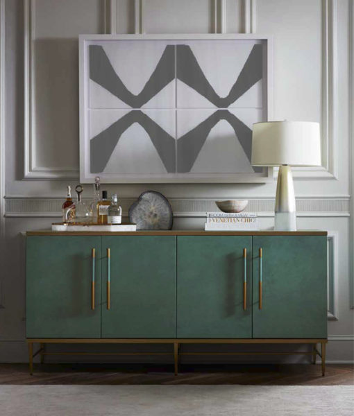 Mitchell Gold + Bob Williams Celine media console lifestyle shot