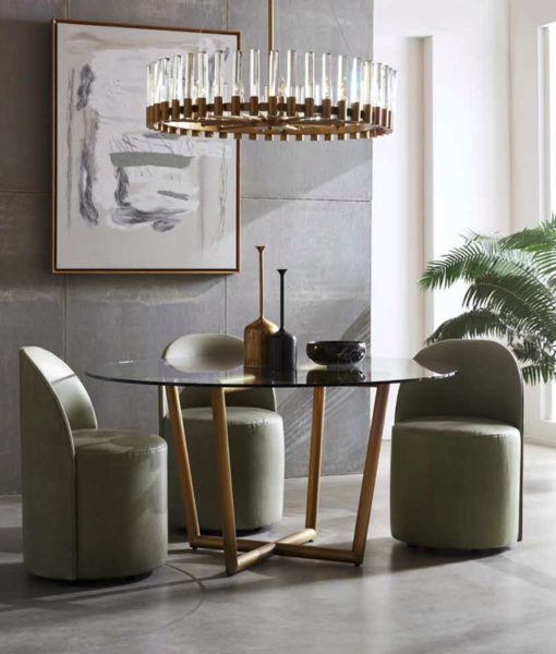 Mitchell Gold + Bob Williams Margaux side chair lifestyle shot