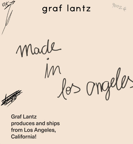 Graf Lantz made in USA