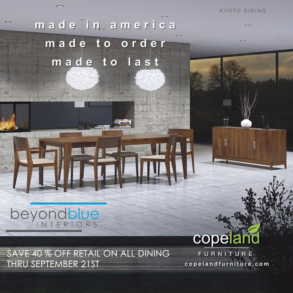 Copeland Dining Sale 2020
