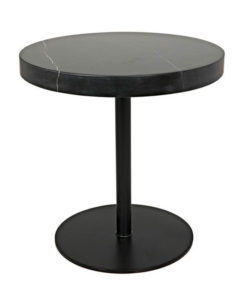 Noir Ford Stone Top Low side table