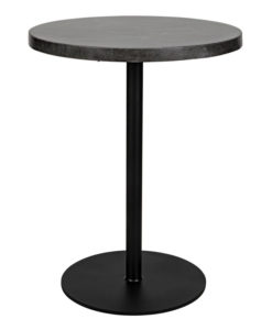Noir Ford Stone Top Tall side table