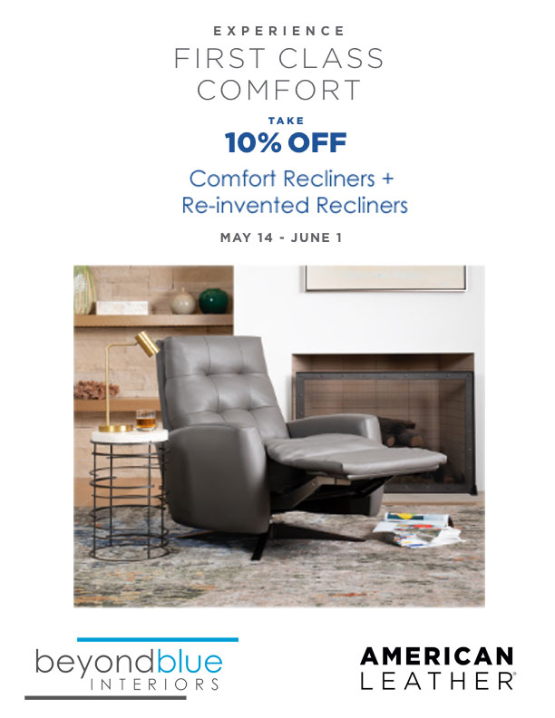 American Leather Recliner Sale Spring 2021