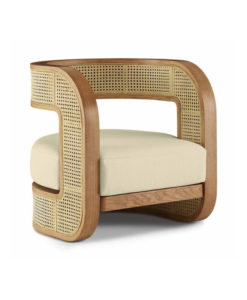 Mitchell Gold + Bob Williams Kirby caned chair