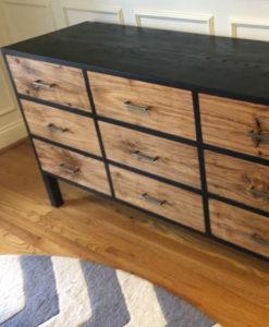 J Koger Furniture Lloyd Nine Drawer Credenza
