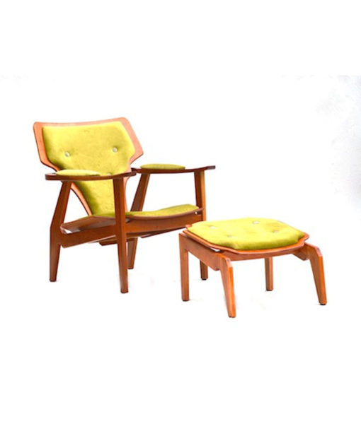 Janosi Designs London Lounge Chair + Ottoman