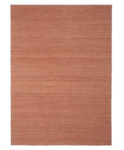 Ethnicraft Terracotta Nomad kilim rug