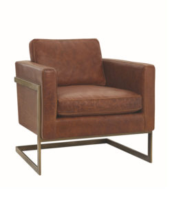 Lee Industries L1858-01 leather chair