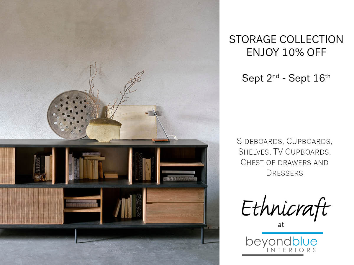 Ethnicraft Storage Collection Sale Fall 2021