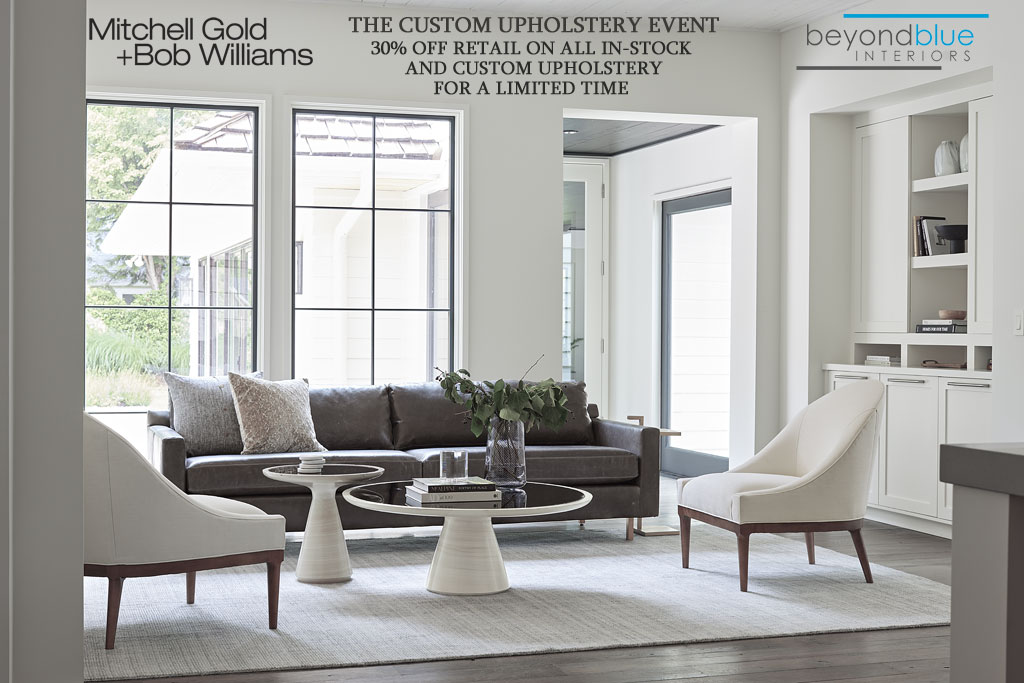 Mitchell Gold + Bob Williams Upholstery Event